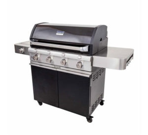Saber Cast Black 4 Burner Gas Grill