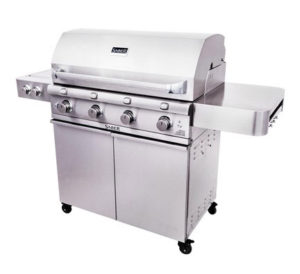 Saber Stainless Steel 4 Burner Gas Grill