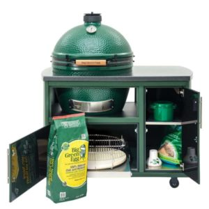Big Green Egg 49 in Custom Cooking Island