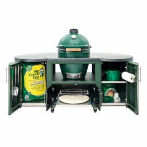 Big Green Egg - 76 Inch Custom Cooking Island