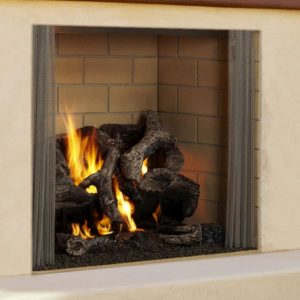 Heat N Glo Castlewood Outdoor Wood Fireplace