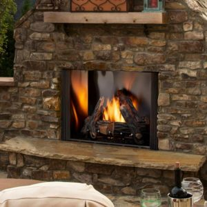Heat N Glo Courtyard Outdoor Fireplace