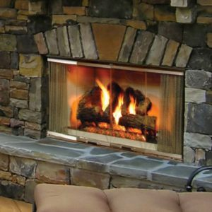 Heat N Glo Montana Outdoor Fireplace