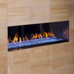 Heat N Glo Palazzo See Through Outdoor Fireplace