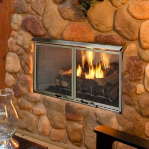 Heat N Glo Villa Outdoor Fireplace