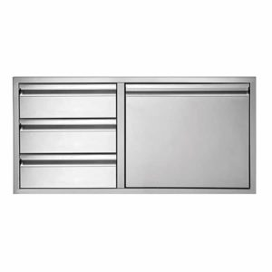 Twin Eagle Door 3 Drawer Combo