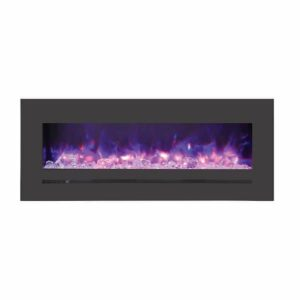 WM‐FML‐48-5523‐STL Linear Electric Fireplace