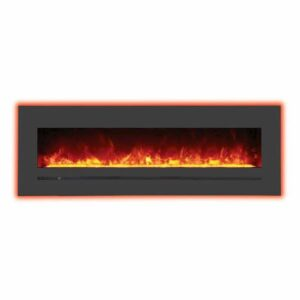Amantii WM-FML-60-6623-STL Electric Fireplace