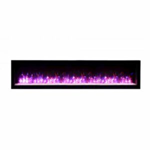 Amantii Sym 74B Electric Fireplace