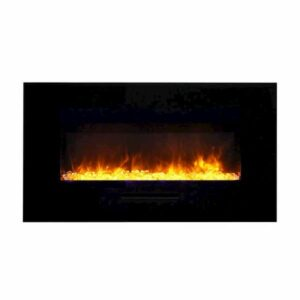 Amantii WM-FM-34-4423-BG Electric Fireplace