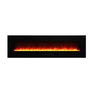 Amantii WM-FM-72-8123-BG Electric Fireplace