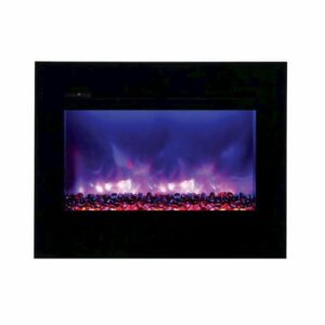 Amantii ZECL-30-3226-FM-BG Electric Fireplace